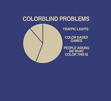 Color blind problems Unisex T-Shirt