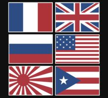 INTERNATIONAL FLAGS by cybersoul