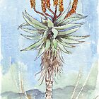 Aloe ferox painting 2 by Maree  Clarkson