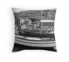 Penberth Cove, Cornwall Throw Pillow