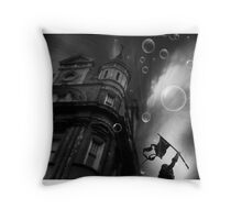 Out On The Tiles Throw Pillow