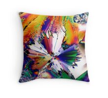Psychedelic Symphony Throw Pillow