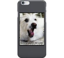 Wolf Man Collection: You're getting very, very sleepy iPhone Case/Skin