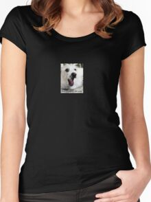 Wolf Man Collection: You're getting very, very sleepy Women's Fitted Scoop T-Shirt