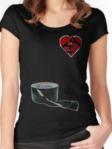 How to mend a broken heart: The Rock Way Women's Fitted Scoop T-Shirt