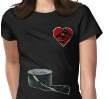 How to mend a broken heart: The Rock Way Womens Fitted T-Shirt