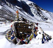 Thorung La Pass - Annapurna Circuit - Nepal by aidan  moran