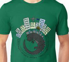 Baby Kaiju Inside Grey Unisex T-Shirt