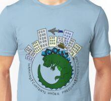 Baby Kaiju Inside Green-Blue Unisex T-Shirt
