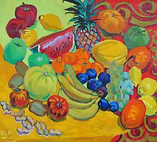 Sweet fruits by Vitali Komarov
