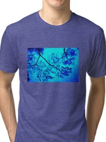 Maple Abstract Tri-blend T-Shirt