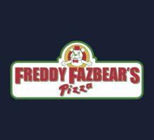 Freddy Fazbear's Pizza Parody Shirt One Piece - Short Sleeve