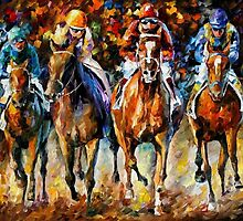 Follow The Leader — Buy Now Link - www.etsy.com/listing/219303804 by Leonid  Afremov