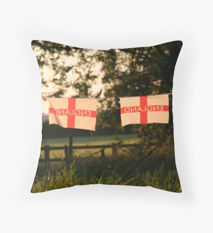 England Throw Pillow