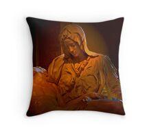The Pieta - A Collaboration Throw Pillow