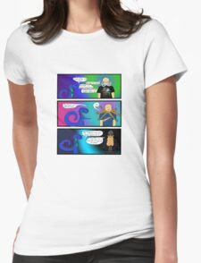 Cool Clothes. And a Beard. Womens Fitted T-Shirt