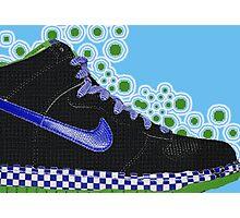 footwear blue Photographic Print
