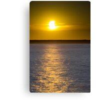 Sunset Eclipse Canvas Print