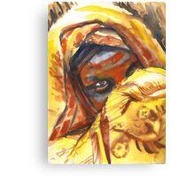Beautiful African Girl Canvas Print