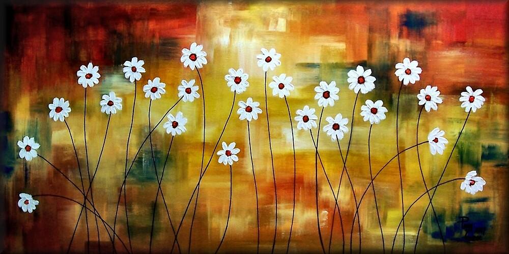 Divine Daisies by Peggy Garr