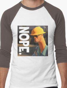 TF2 nope! Engineer, funny. Men's Baseball ¾ T-Shirt