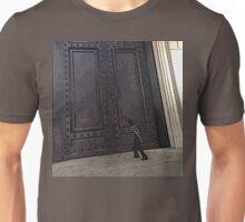 Huge Archives Door Unisex T-Shirt