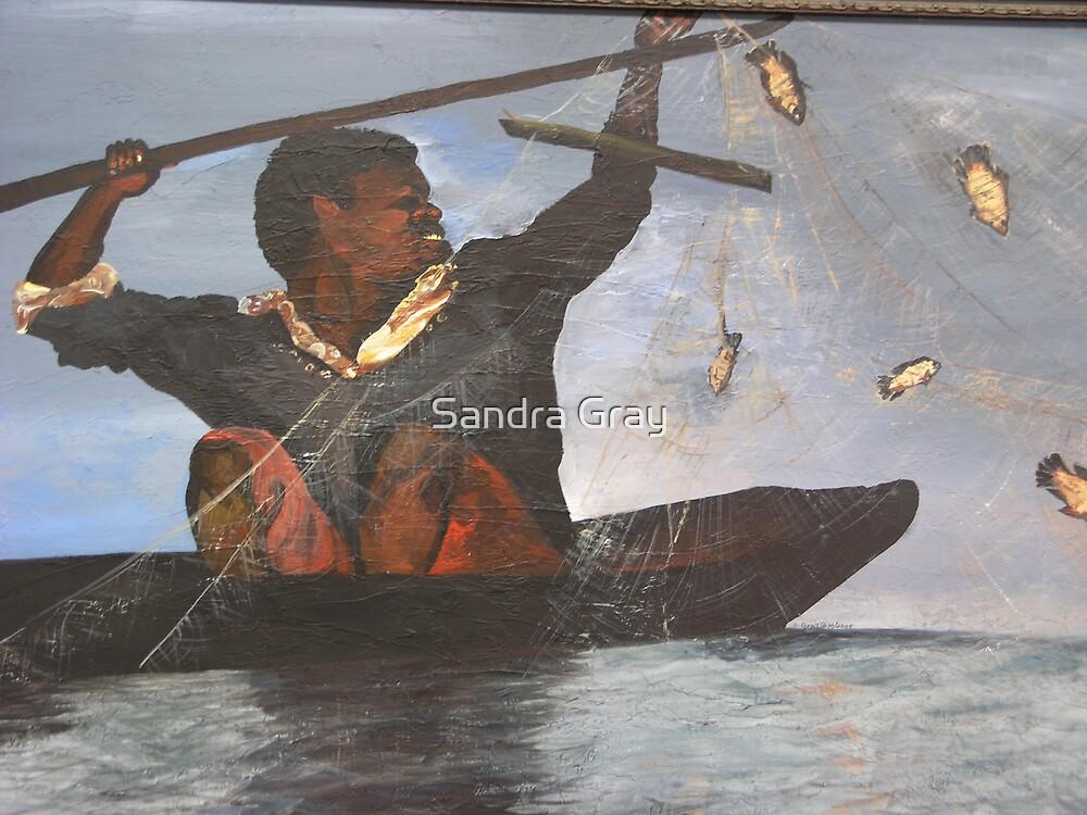 African Fisherman by Sandra Gray