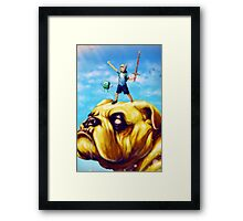 Adventure Realistic Framed Print