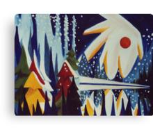 Canadian Sky Canvas Print