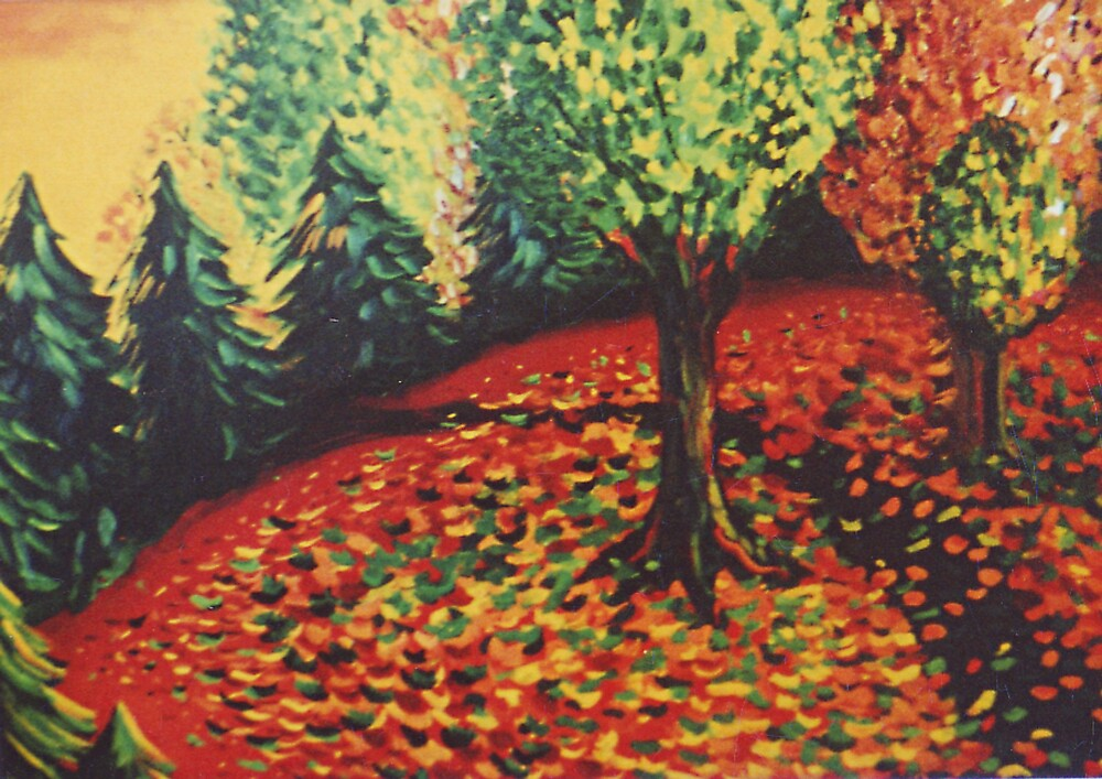 Dance of the Leaves by Jill Mattson