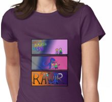 Dragon Rages against the Kids' Electronic Devices Womens Fitted T-Shirt