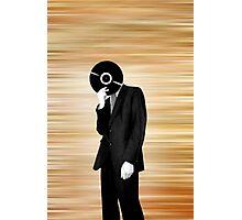 Vinyl Head Photographic Print