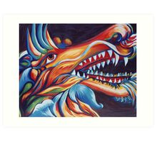 Dragons Glory Art Print