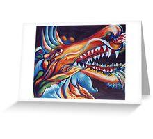 Dragons Glory Greeting Card