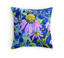 Coneflowers 2 Throw Pillow