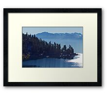 Misty View Framed Print