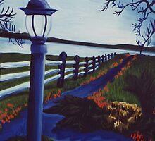 Garden on the Lake by Jill Mattson