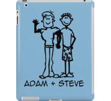 Adam + Steve iPad Case/Skin