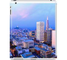 San Francisco Cityscape at Dusk iPad Case/Skin