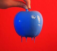 blue apple by TGPhotography