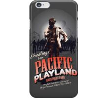 Greetings From Pacific Playland iPhone Case/Skin