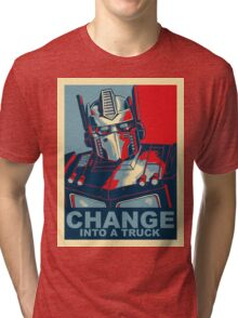 Optimus Prime - Change Tri-blend T-Shirt