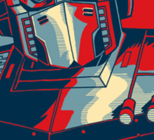 Optimus Prime - Change Sticker