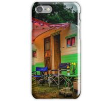 Under the Red Awning iPhone Case/Skin