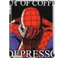 Depressed Spiderman iPad Case/Skin
