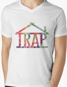 Trap House Mens V-Neck T-Shirt