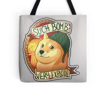 Doge, the bomb expert. CSGO Tote Bag