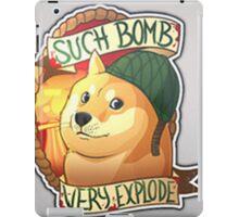 Doge, the bomb expert. CSGO iPad Case/Skin