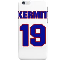 National baseball player Kermit Wahl jersey 19 iPhone Case/Skin