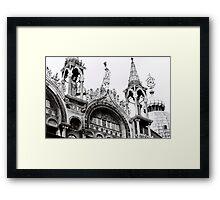 St Mark's Crowns Framed Print